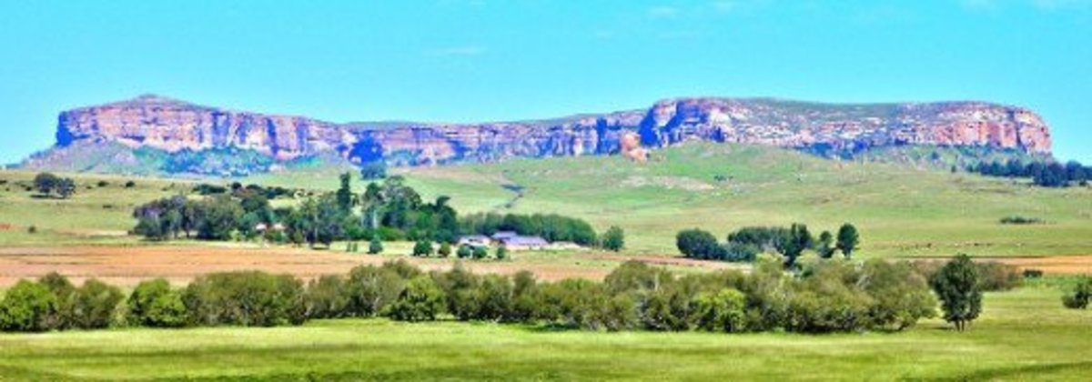Platberg, Harrismith, Free State, South Africa