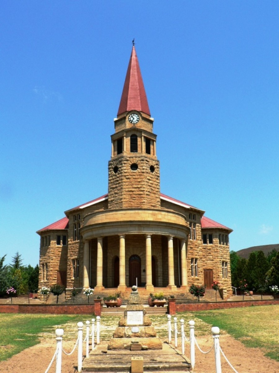 Dutch Reformed Church, Kestell, Free State, South Africa