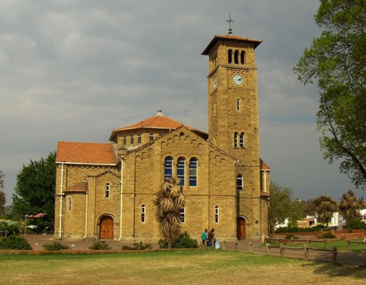 Dutch Reformed Church, Bethlehem, Free State, South Africa