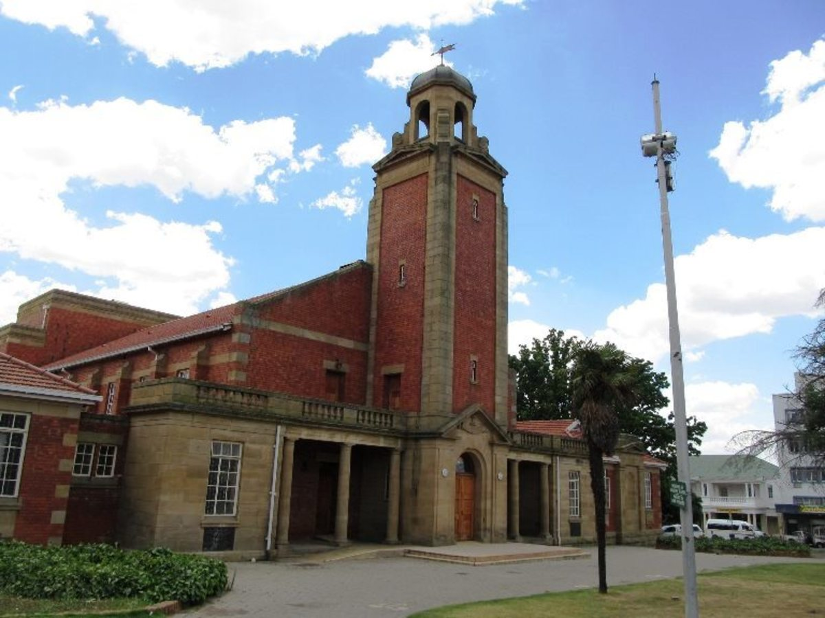 Town Hall, Bethlehem, Free State, South Africa