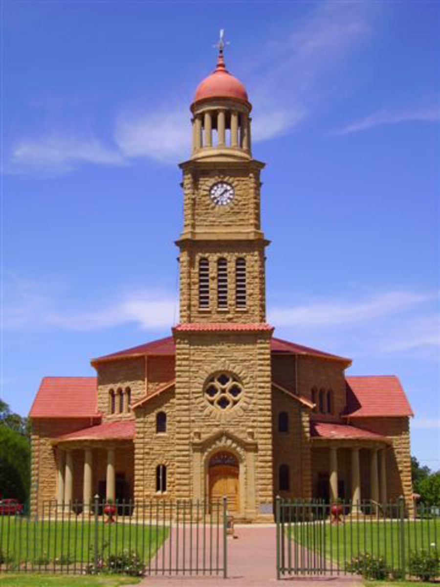 Dutch Reformed Church, Steynsrus, Free State, South Africa