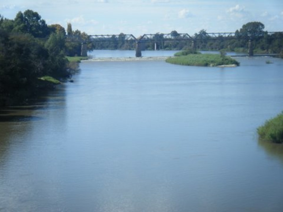 Vaal River at Orkney, North West Province, South Africa