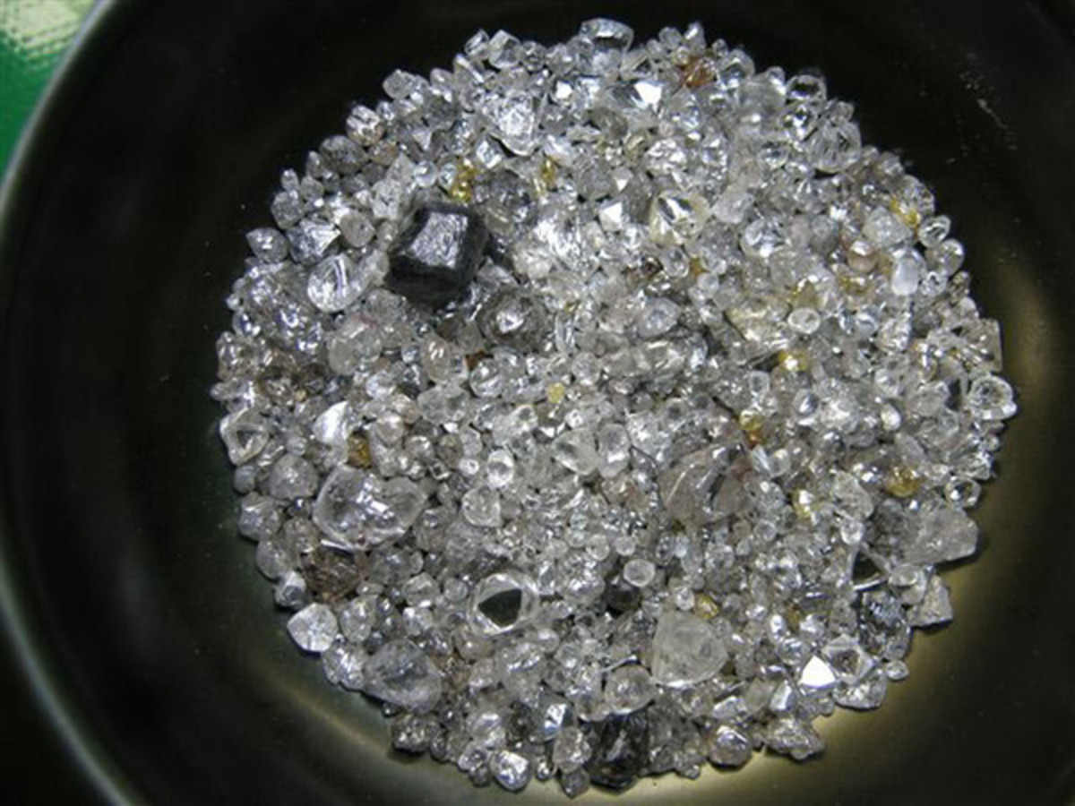 Lace Diamond Mine (LDM), Kroonstad, Free State, South Africa