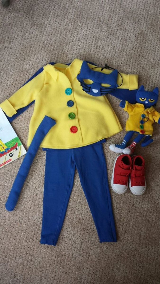 Pete the Cat Halloween Costume Ideas