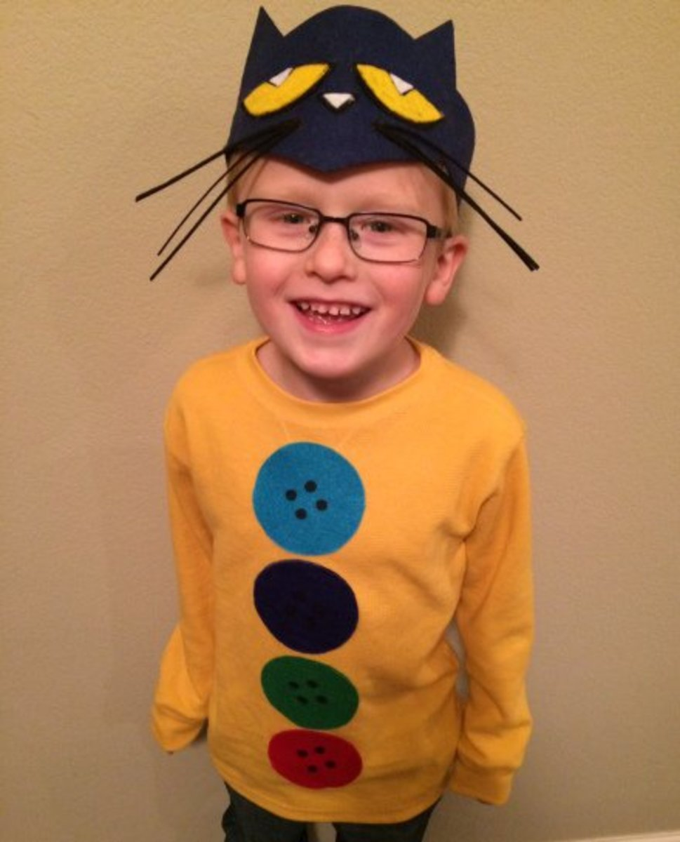 How To Make Pete The Cat Costume