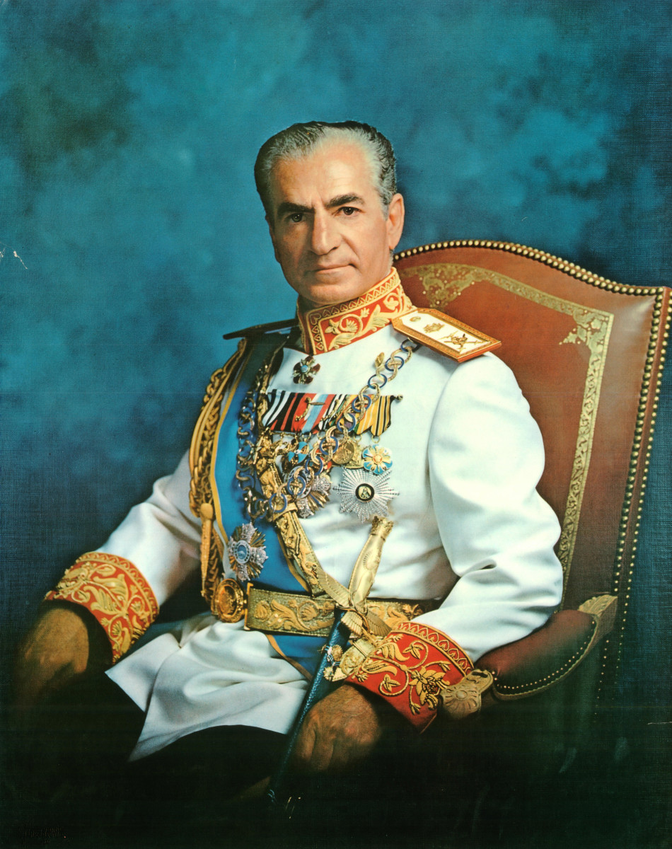 Mohammad Reza Pahlavi took the throne in Iran after his own father Mohammad Reza Shah abdicated in 1941. Pahlavi briefly left Iran in 1951, and returned in 1953 where he would stay until 1979.