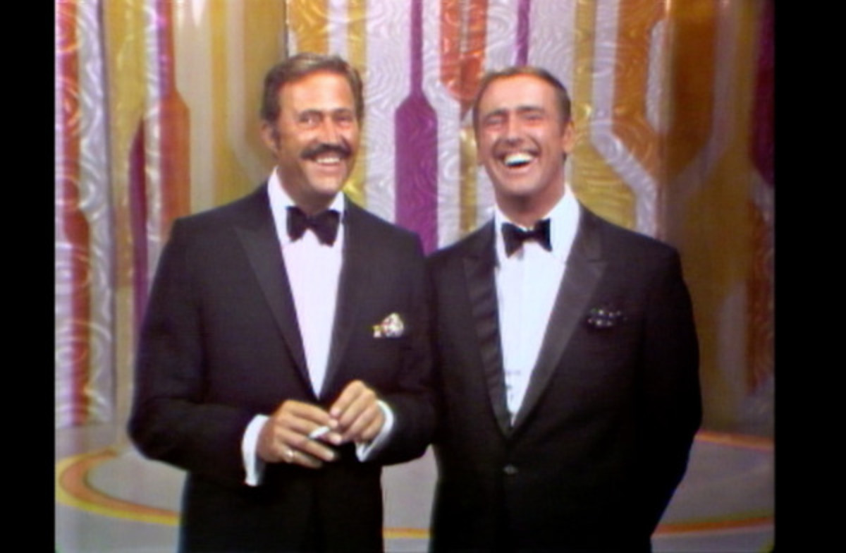 Dan Rowan and Dick Martin