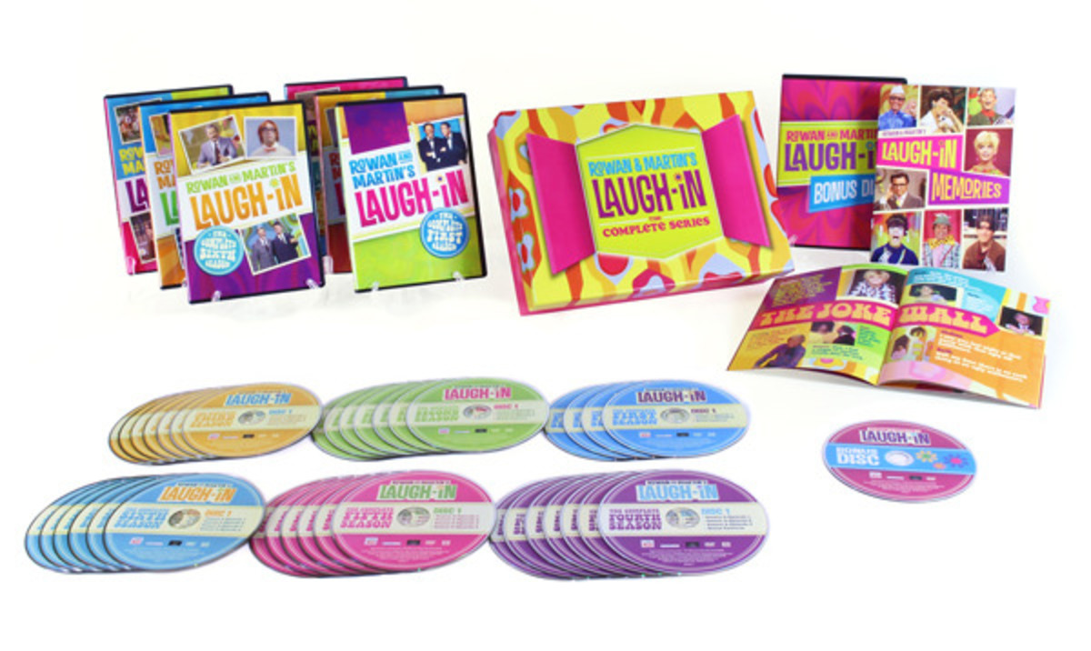 Rowan and Martin's Laugh-In :The Complete Series box set