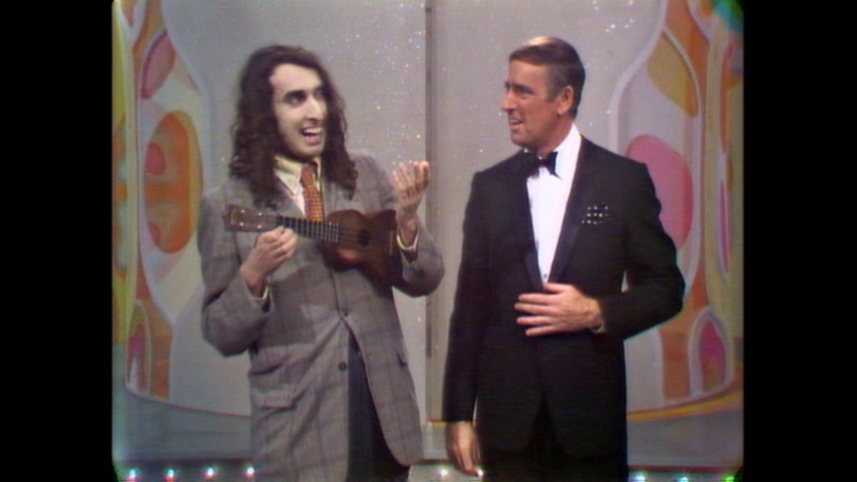 Tiny Tim and Dick Martin