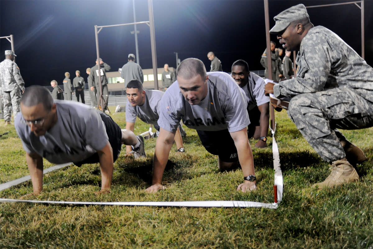 Top Supplements For Military Training