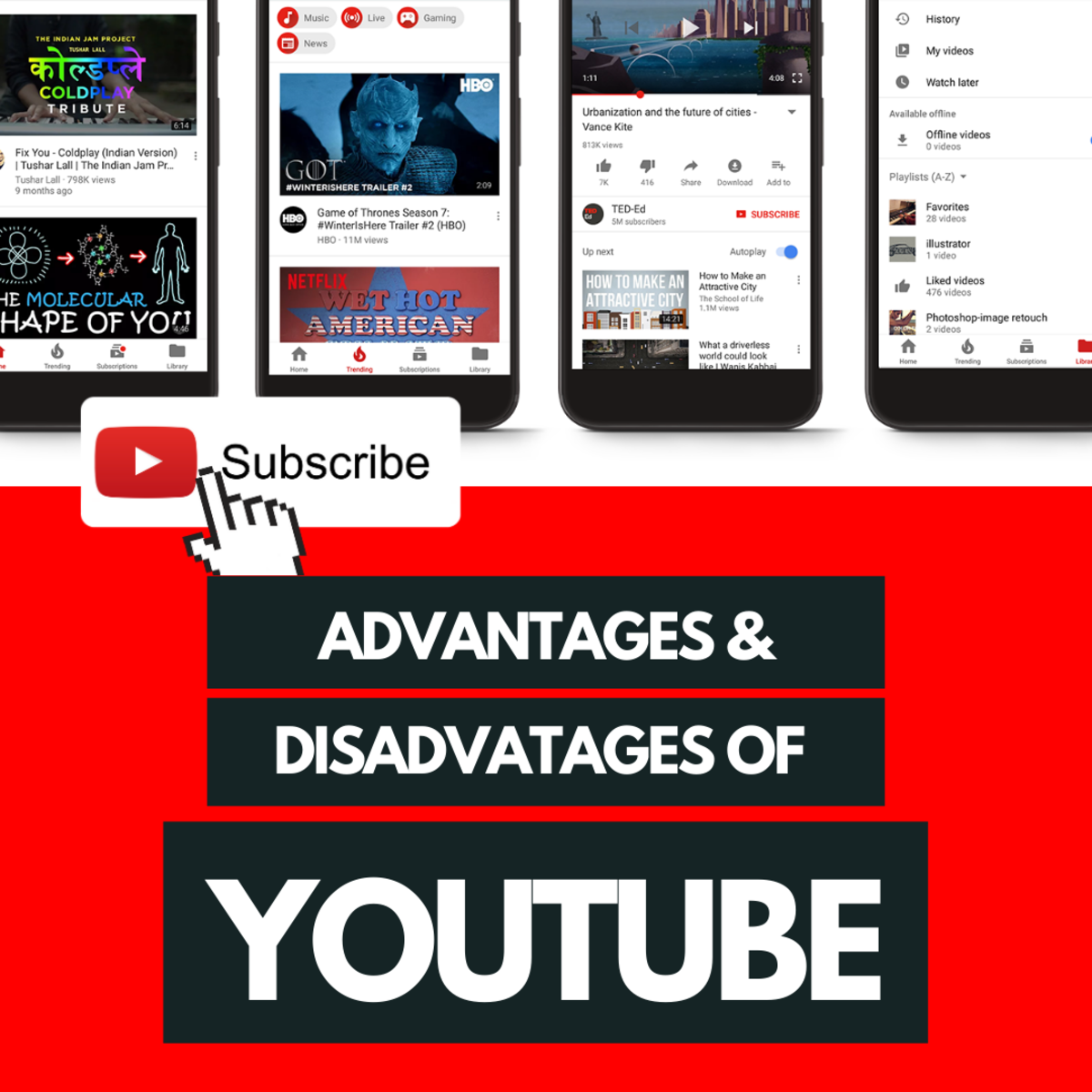 The Advantages and Disadvantages of YouTube