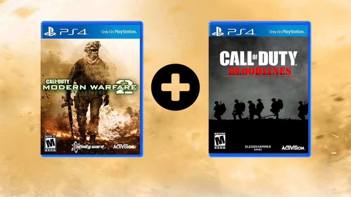 Call of Duty MW2 Remastered (image on left), and Call of Duty: Bloodlines (image on right) - both are unfortunately unofficial, but would be the greatest pairing in COD's history
