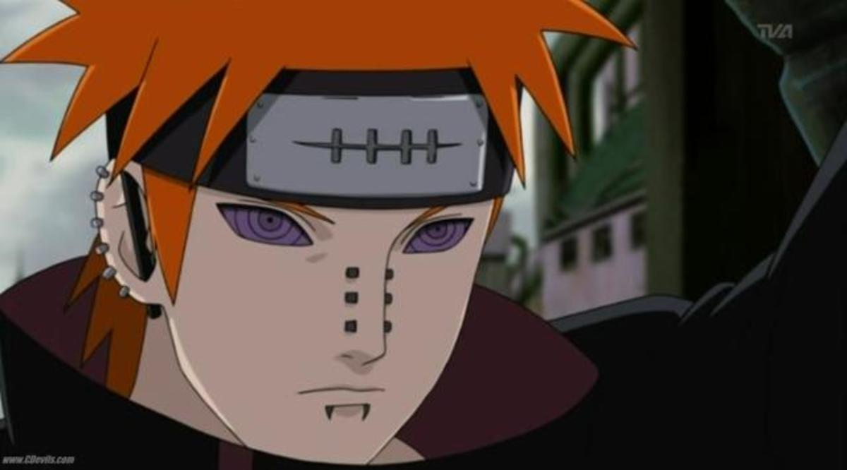 Yahiko Pain. The First Pain we see when introduced to Pain.