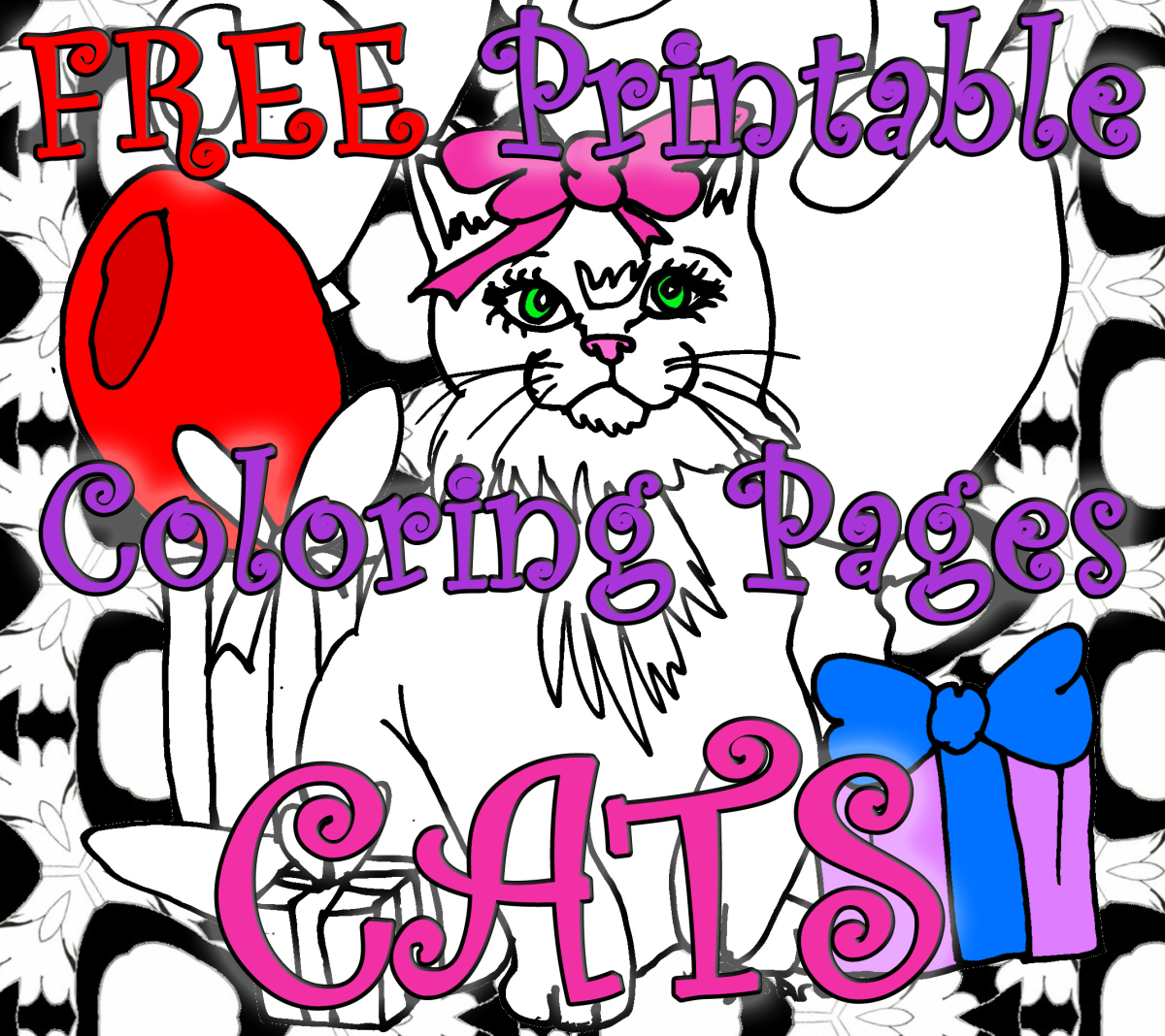 10 Free Printable Cat Coloring Pages for Kids