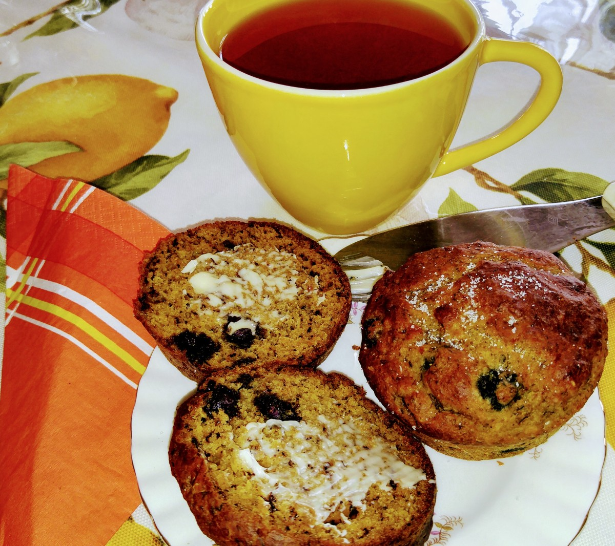 You will feel satisfied and virtuous when you breakfast on these healthy, but yummy, chia seed recipes.  (Find the Chia seed-Banana-Saskatoon-Berry muffin recipe at the bottom of the article)