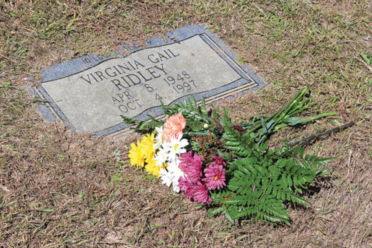 Alvin still visits Virginia and often leaves flowers on her headstone.