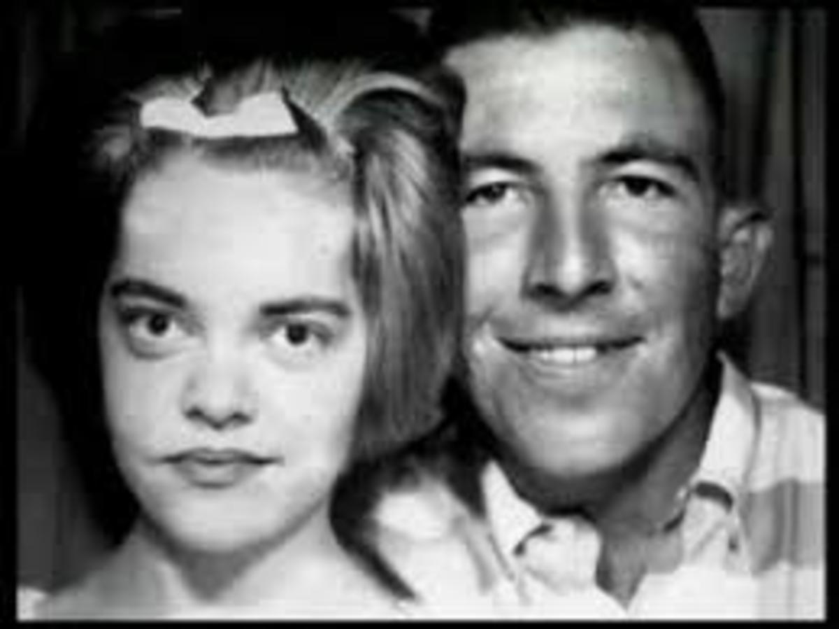 Virginia and Alvin while dating before their marriage in 1966.