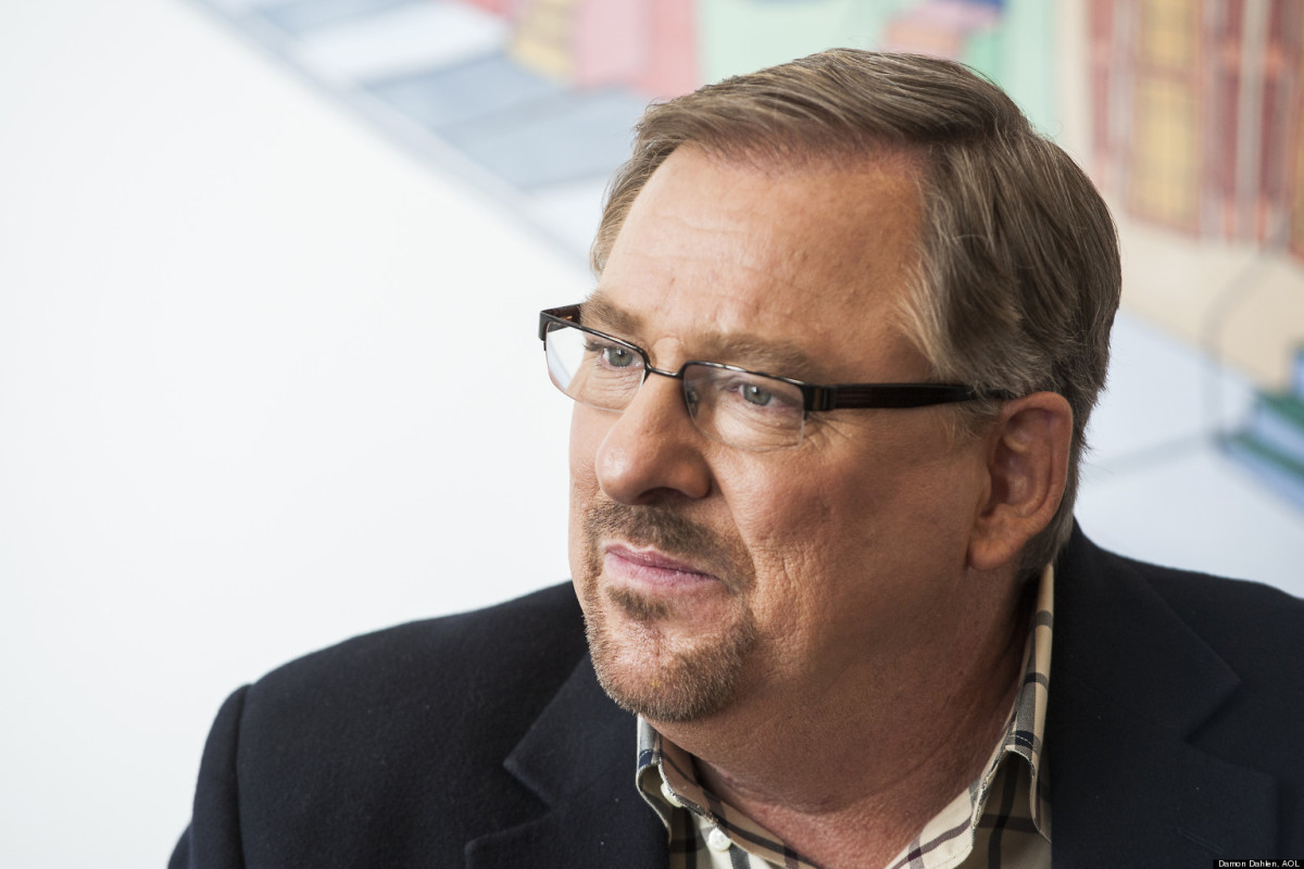 Rick Warren Gives 4 Causes and Cures of Discouragement