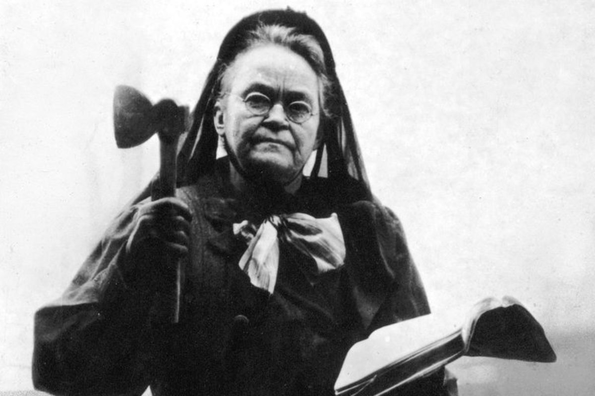 Carrie Nation (Carry A. Nation)