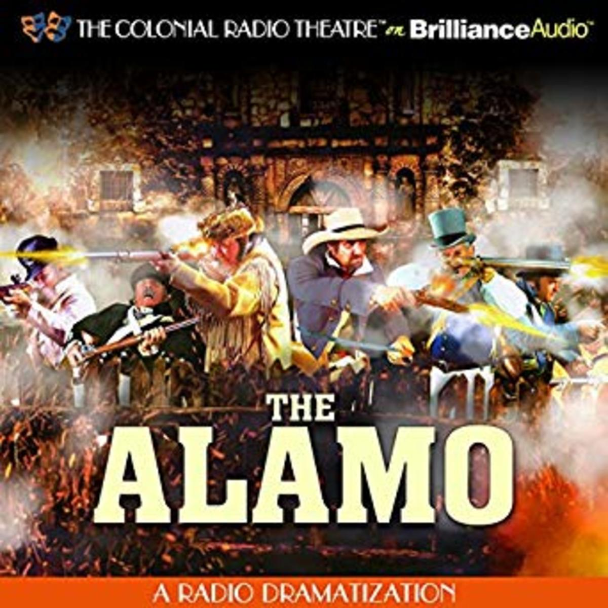 The Alamo: A Radio Dramatization Audible Audiobook – Jerry Robbins (Author, Narrator), The Colonial Radio Players (Narrator), The Colonial Radio Theatre on Brilliance Audio (Publisher) (CD)