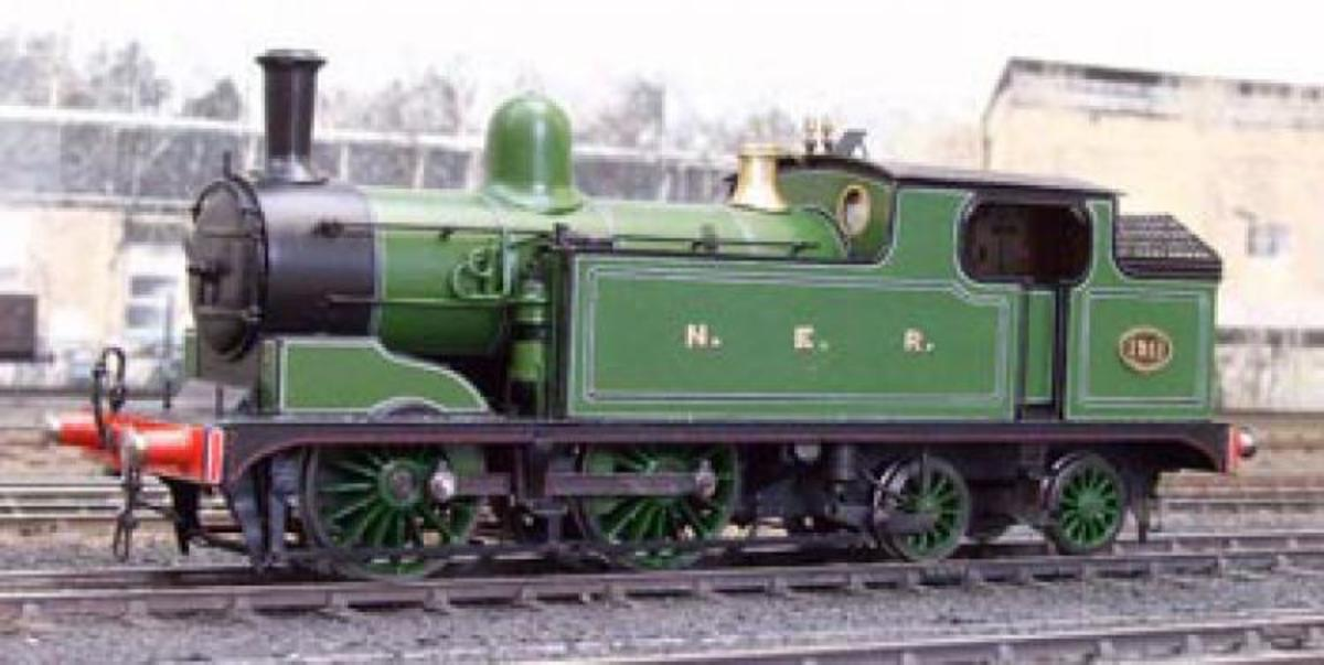 Travel North - 57: Wilson Worsdell's Wonder, North Eastern Class O 0-4-4 Tank Engines