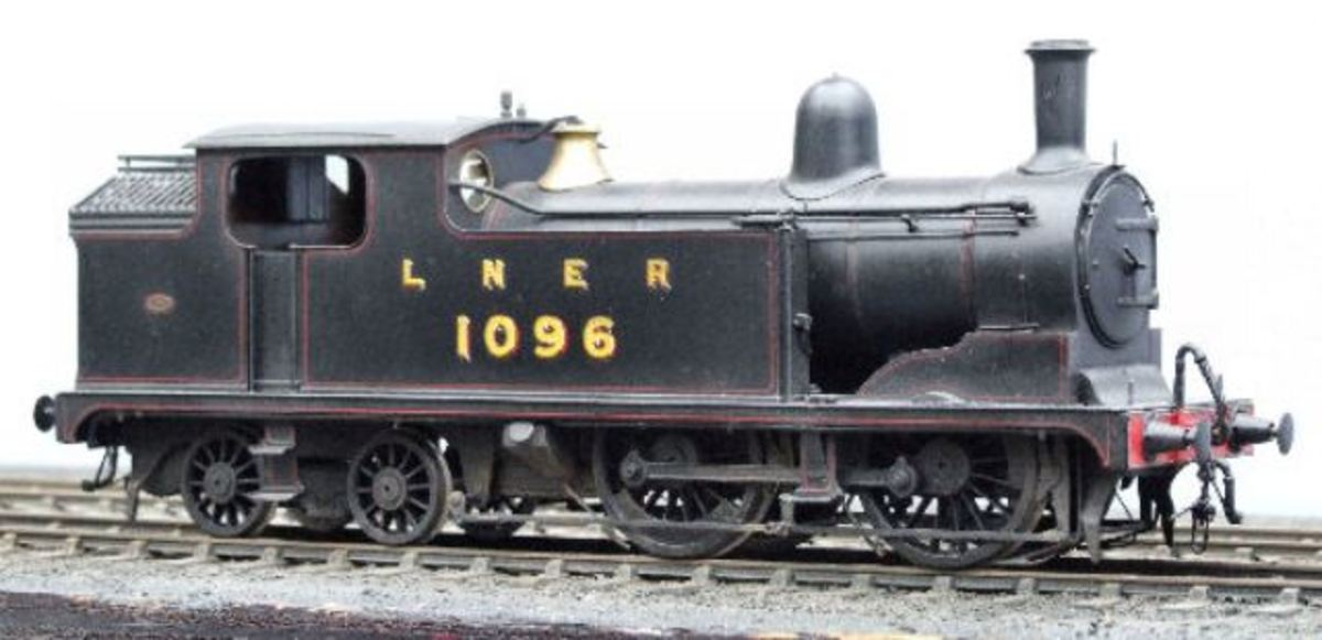 On to LNER days, the McGeown kit-built Class G5 model shows the locomotive livery adopted in the 1930s to the end of LNER ownership