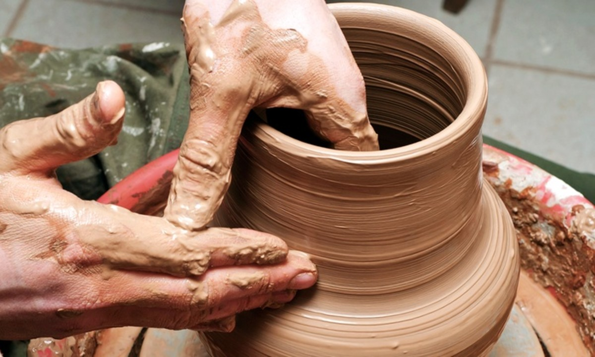 You, LORD, are our Father. We are nothing but clay, but you are the potter who molded us.  -Isaiah 64:8