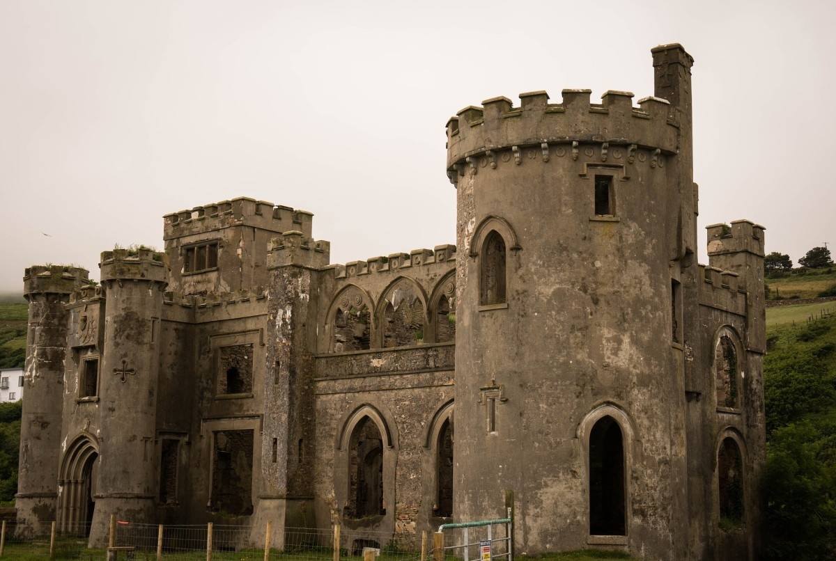 An old Irish castle.