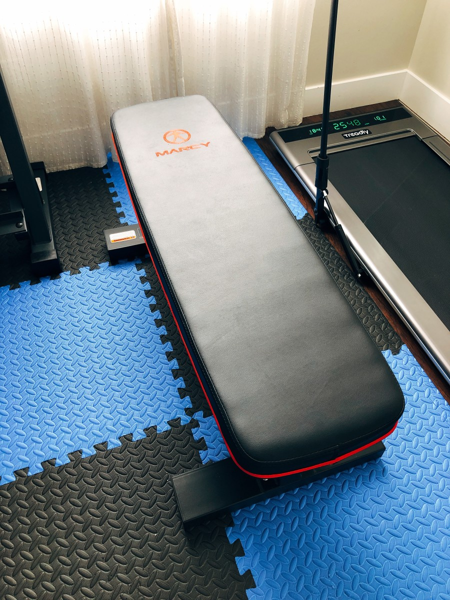 A flat bench is a very useful tool for work out. You can do chest exercise, leg exercise, triceps  exercise, and ab exercise.