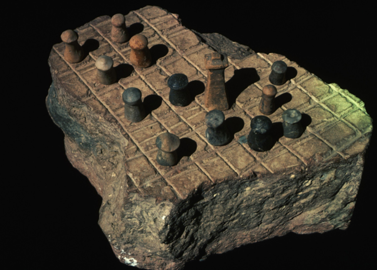 Game of chess shows idea of hierarchy and administration.