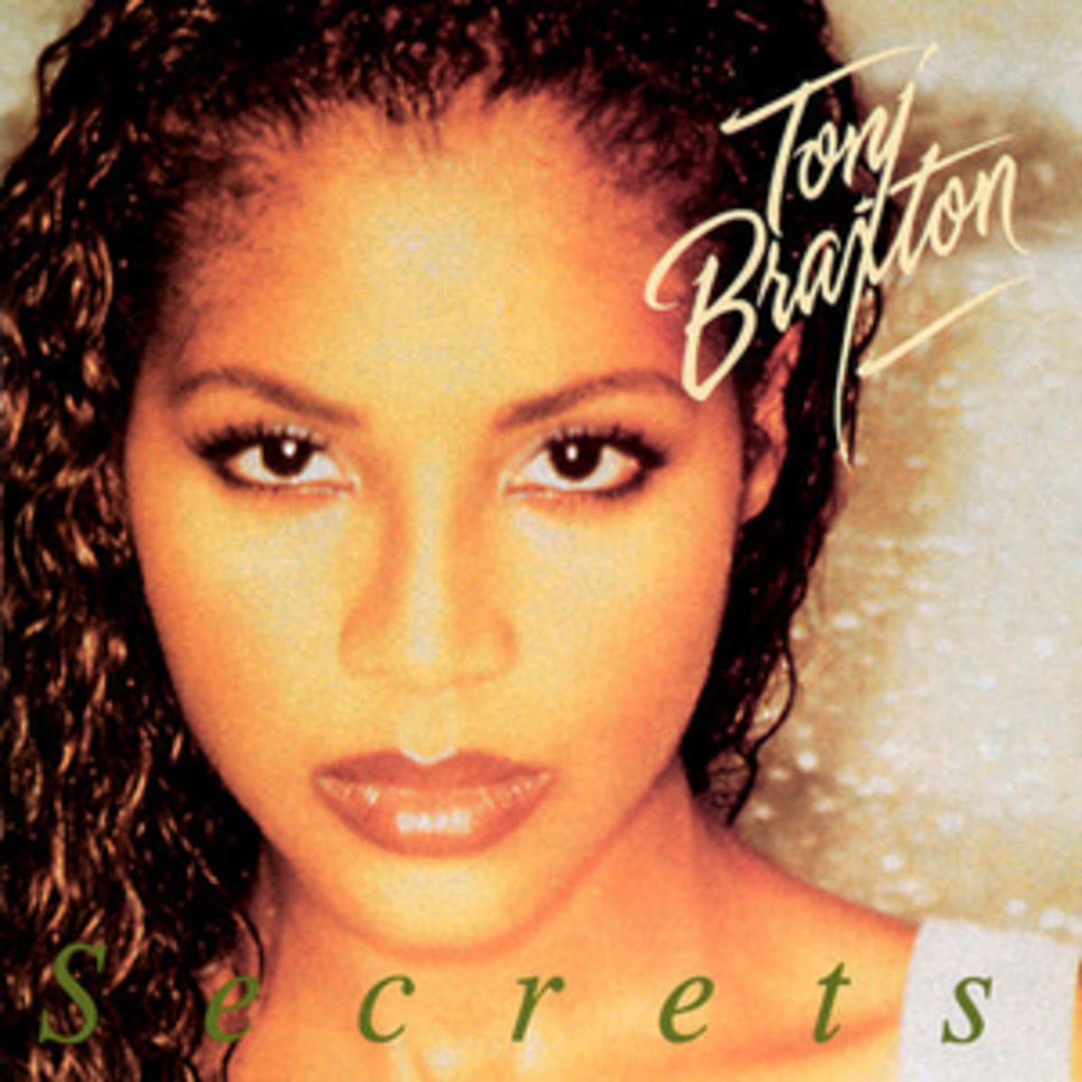 """Toni Braxton's """"Secret"""" Album Cover"""