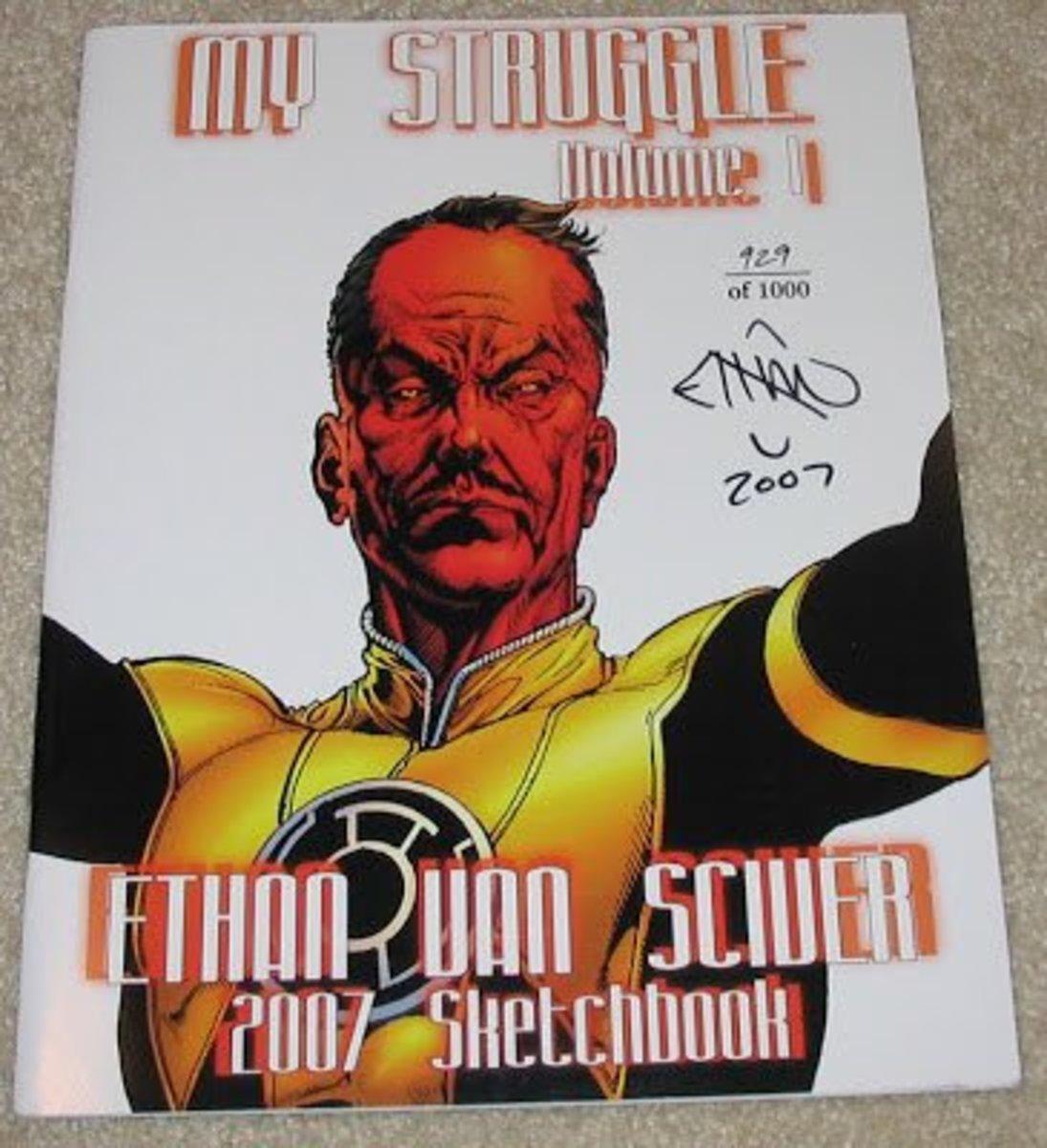 EVS's 2007 Hitler inspired sketchbook.