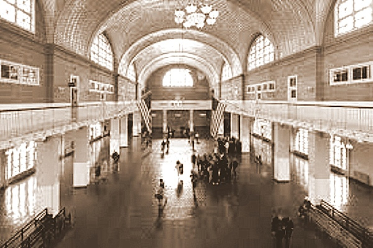 Ellis Island Operated as an Immigration Centre until the 1950's.