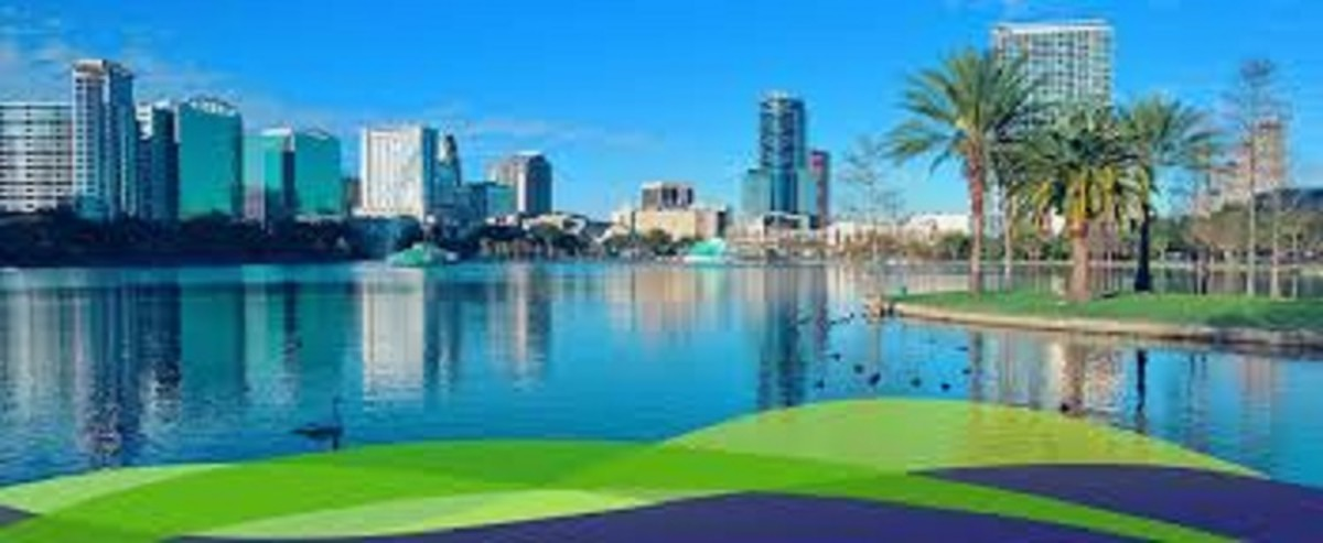 Orlando, Florida. A city with plenty to offer everyone who visits here.