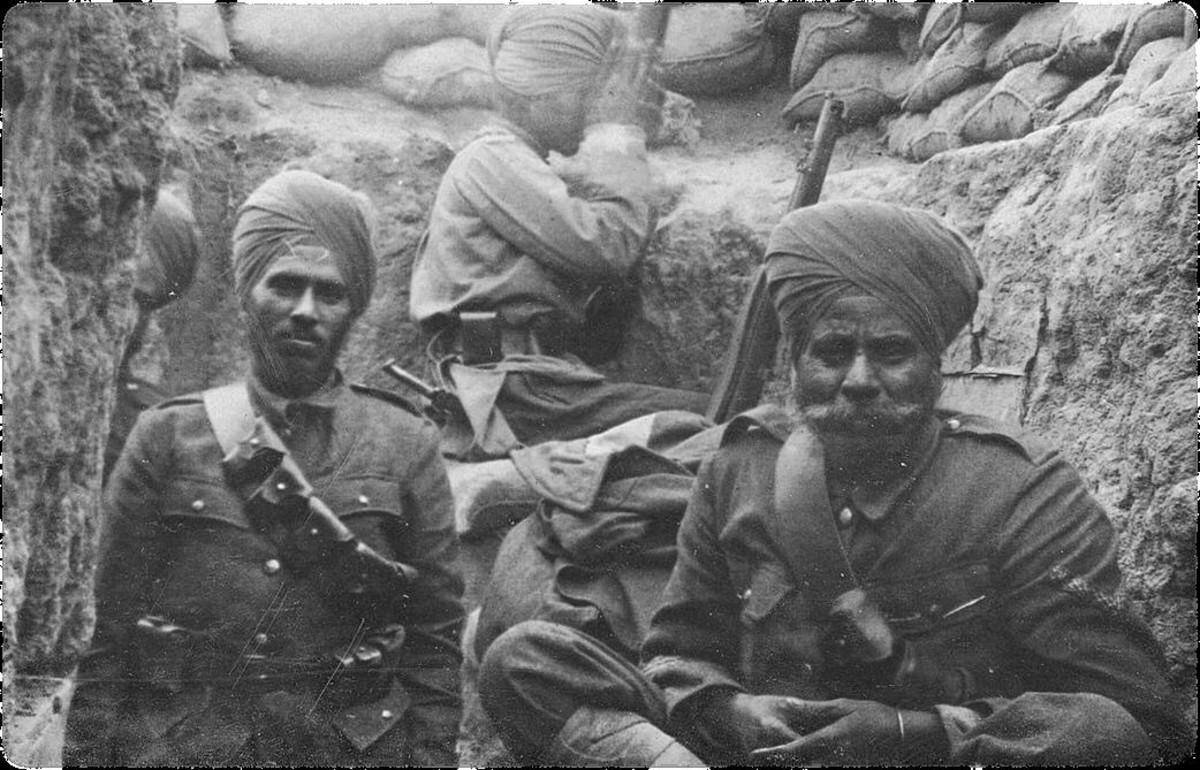 Indian troops in Opium wars