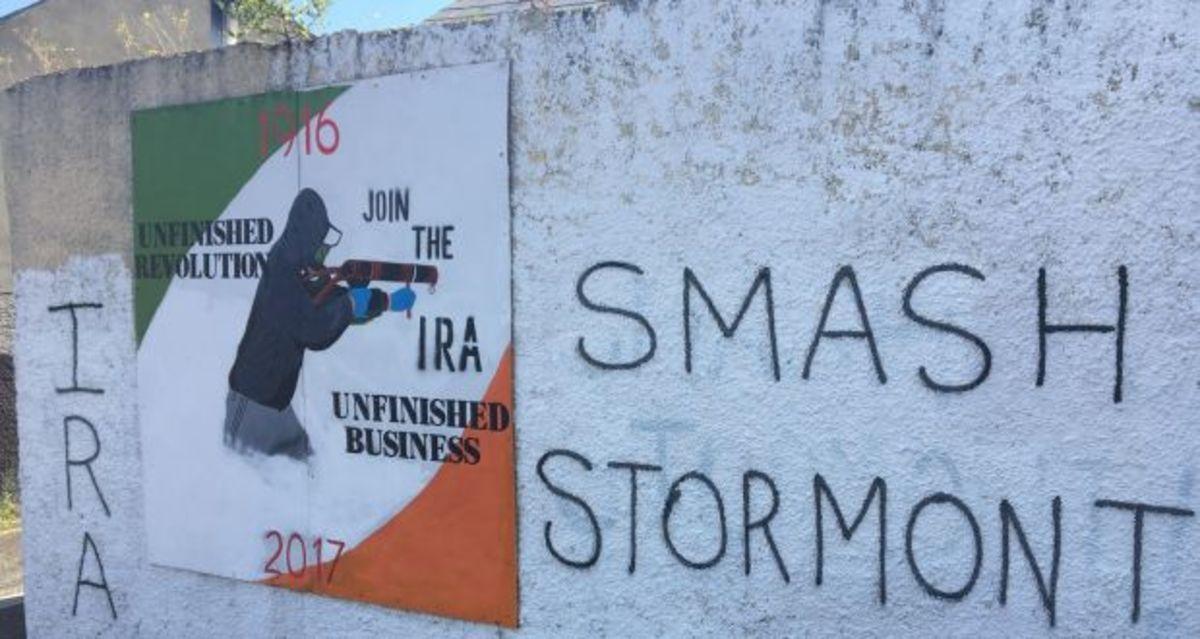 Anti-Stormont message