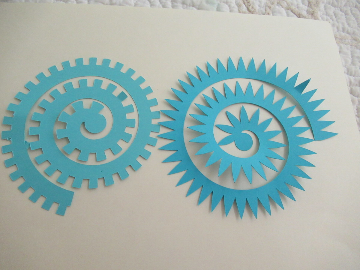 These are some of the templates that I have cut from my Cricut Electronic Cutting Machine. In this case,I used my Explore 2