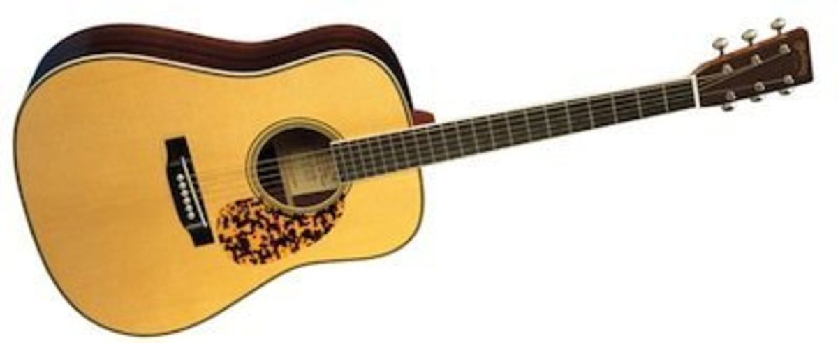 The Martin D-28CW, the Clarence White Guitar