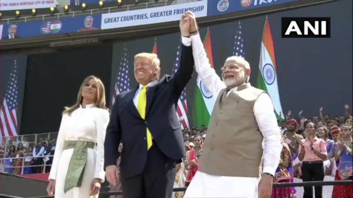Trump's Visit and the Sinister Attempt to Defame Modi