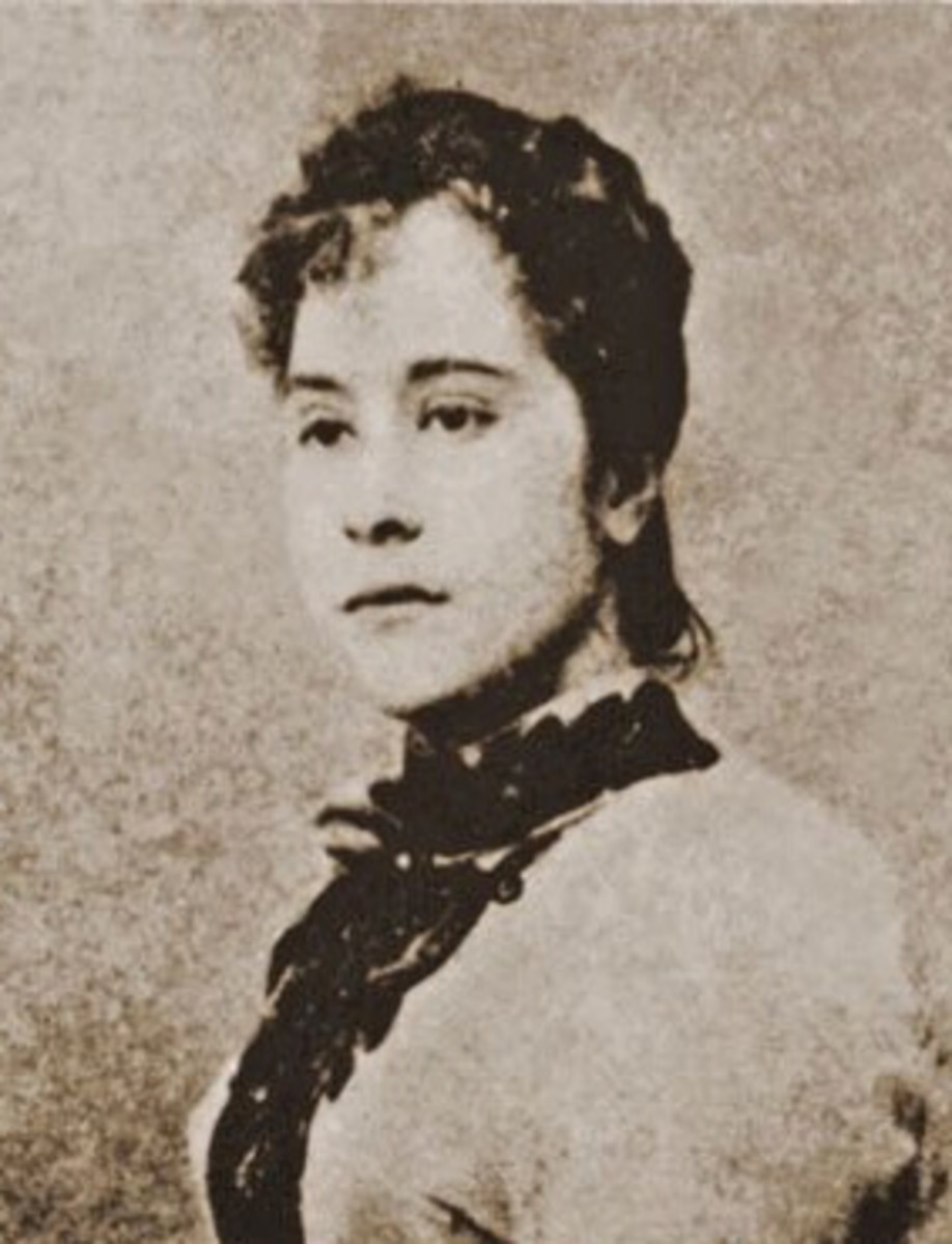 A photo of Nellie Boustead, which made me understand why the men fought over her.