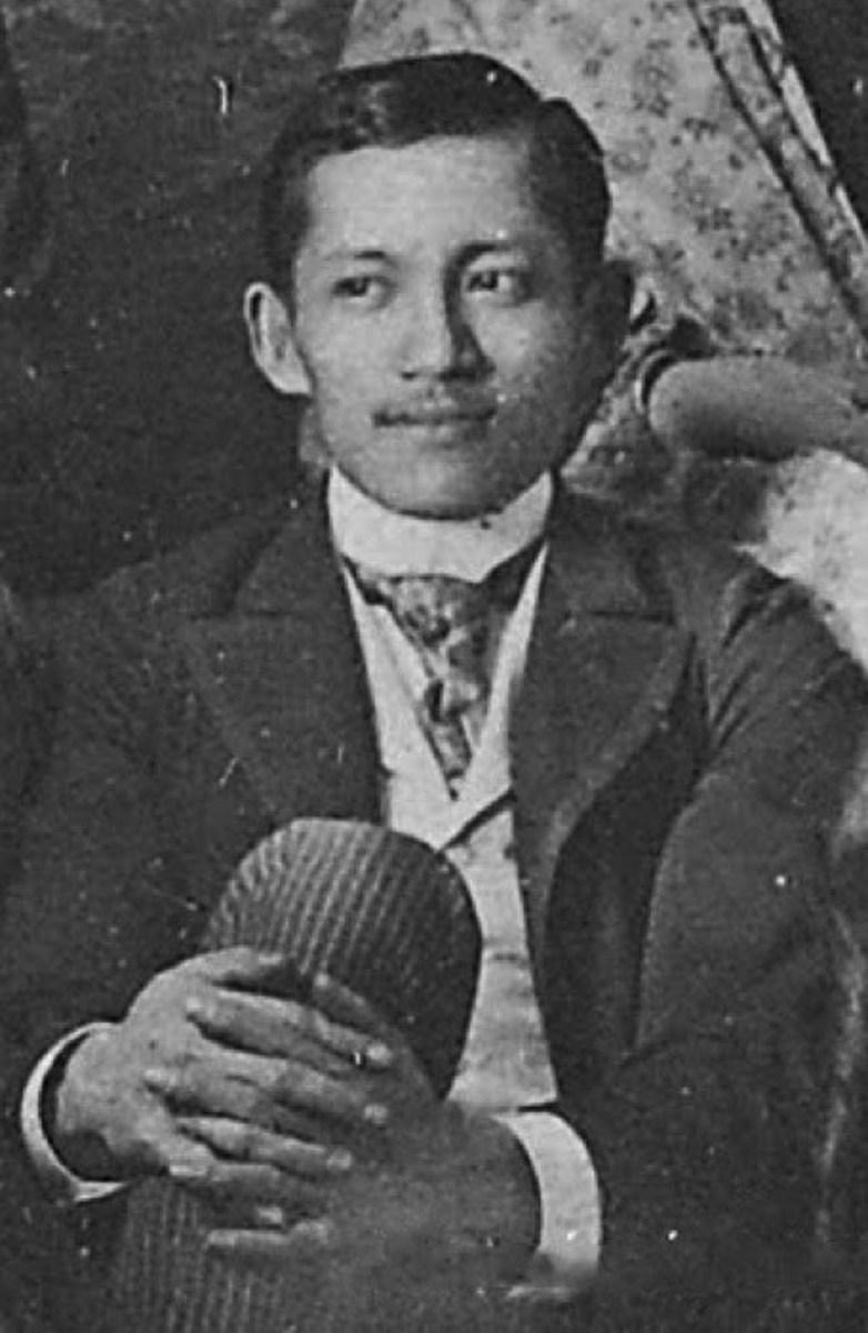 A photo of Jose Rizal.