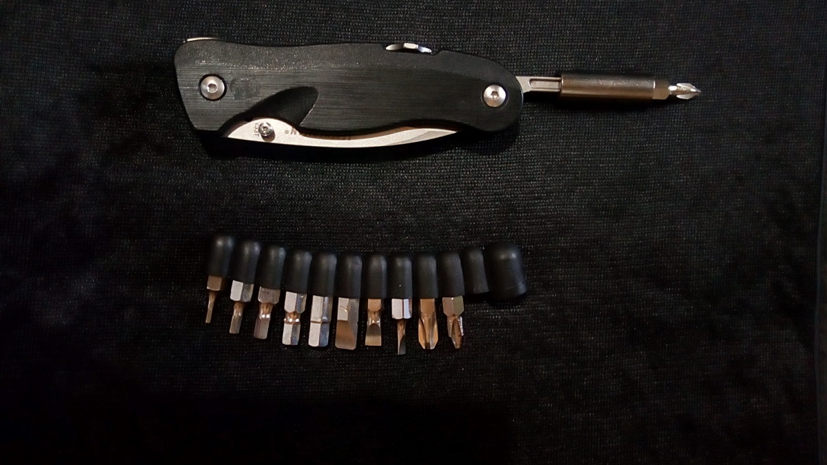 Using a Generic Bit Kit on a Leatherman Crater