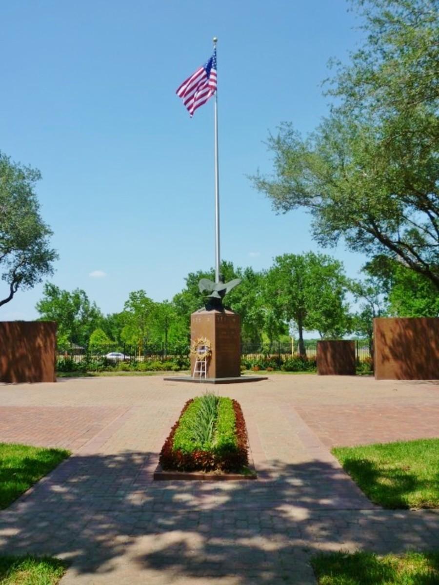 Harris County War Memorial in Bear Creek Park