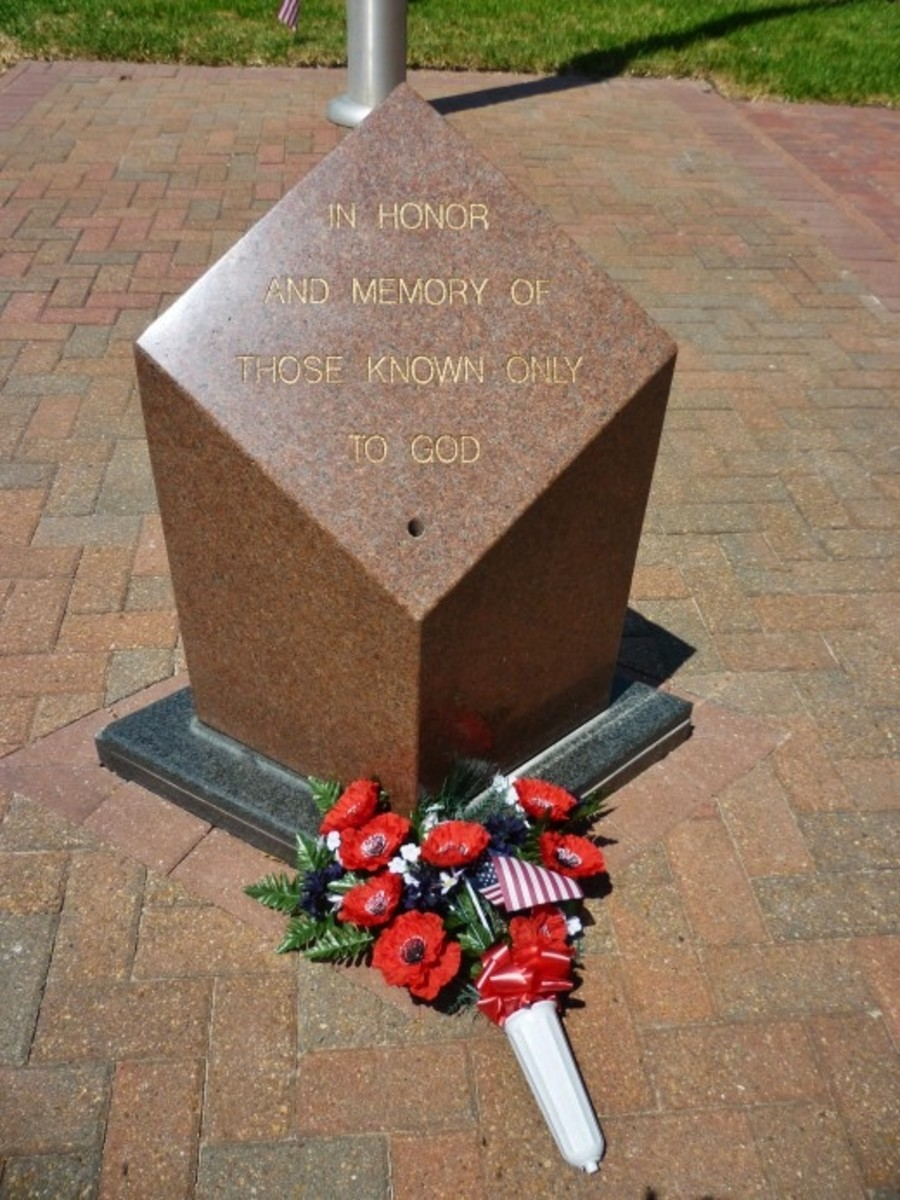In Honor & Memory of Those Known Only to God at the Harris County War Memorial