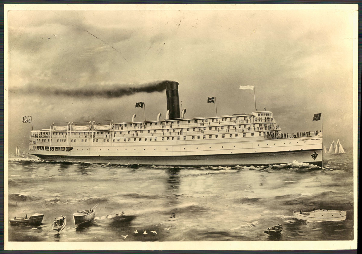 The Old Bay steam liner