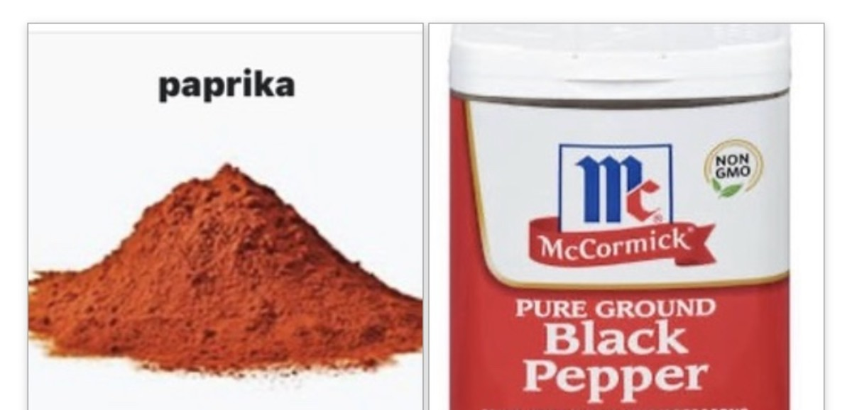 Paprika and black pepper make Old Bay seasoning healthy.