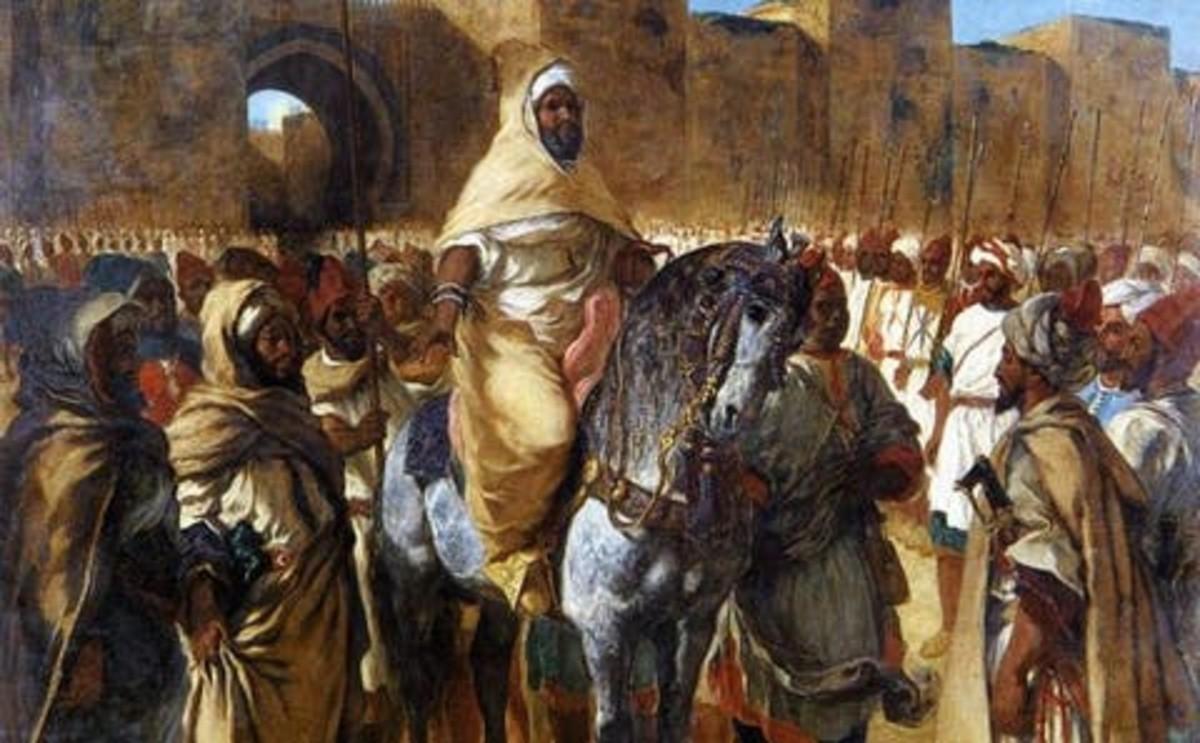 The Black Guard Moroccan Barbary Arabs White Slavery