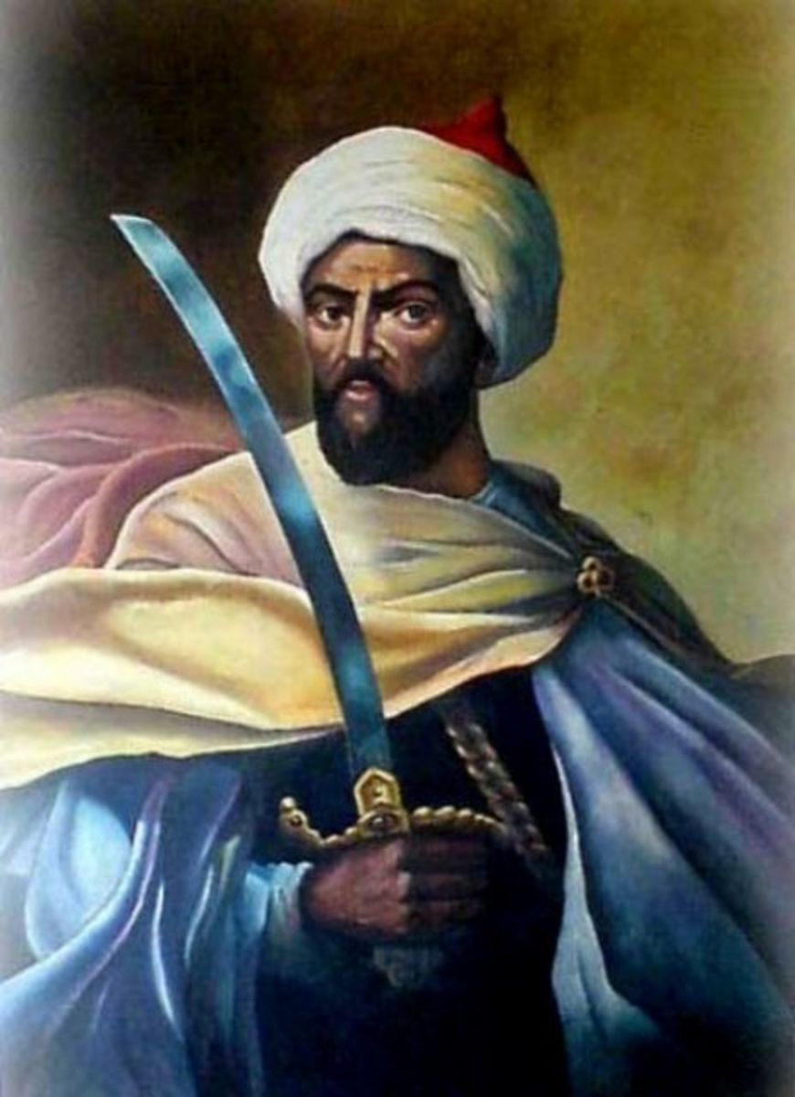 Sultan Moulay Ismail Barbary Arab slaver