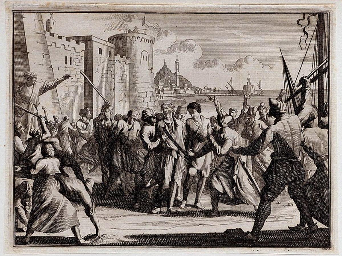 Irish Slaves West Cork taken by Muslim Arab Barbary coast.