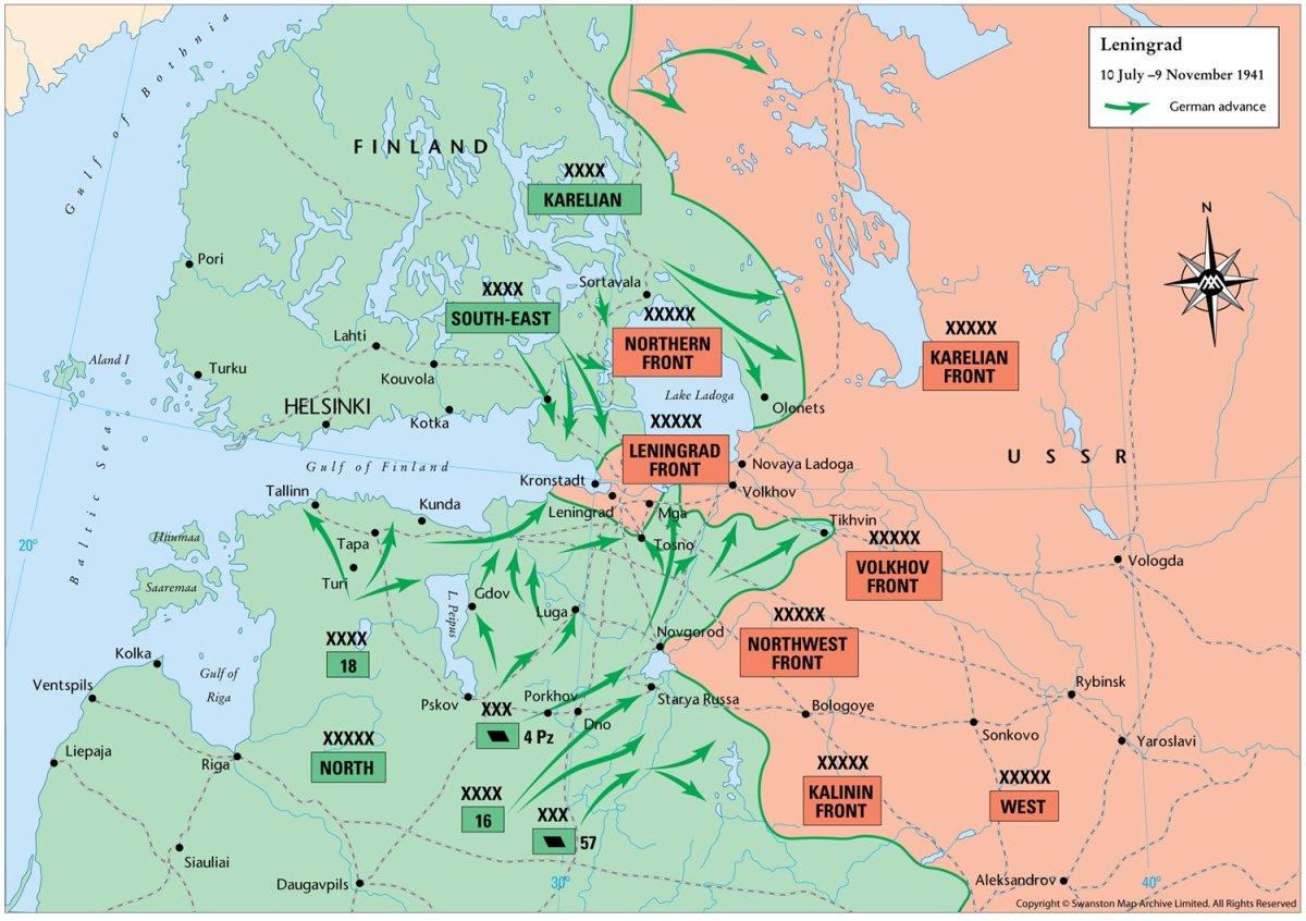 The Epic Siege of Leningrad : World War II